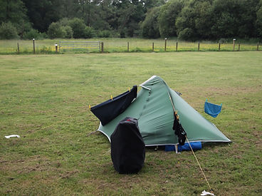 Tent, cycle camping, newcastle emlyn