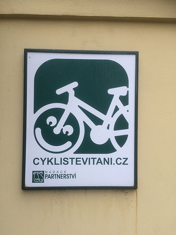 Cyclists welcome in the Czech Republic