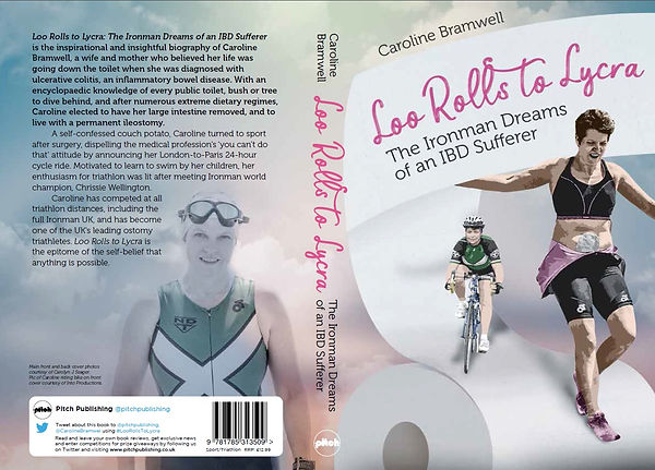 Loo Rolls to Lycra buy Carolie Bramwell, cover review book