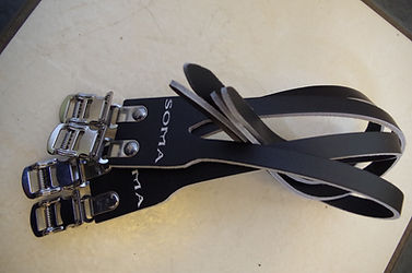 Soma toe straps for oe clips doube four gate test review cycle cycling