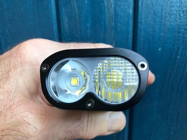 dual lens bike bicycle cycle light