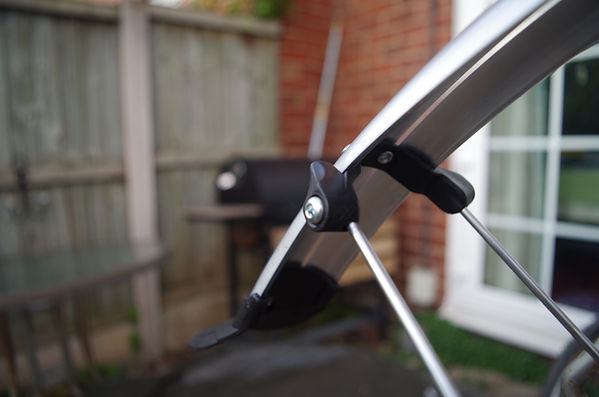 Oxford cycle cycling full length mudguard test review