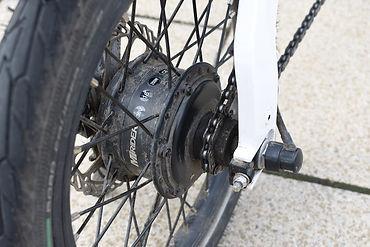 motor bike back wheel