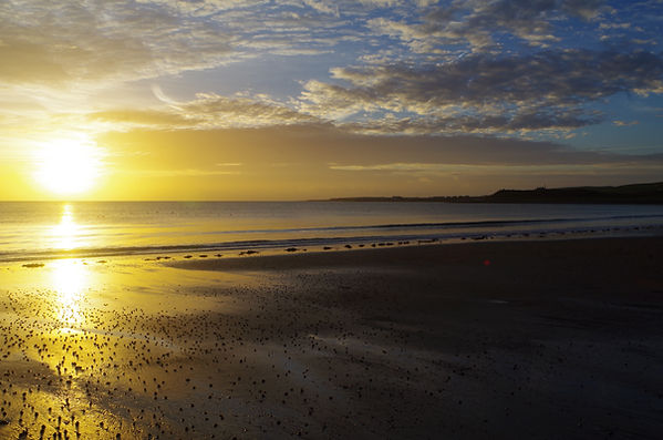 Luce Bay, Galloway, mull of, Drummore, dawn