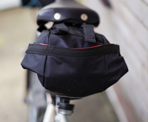 saddle seatv post bag luggage bicycle cycle
