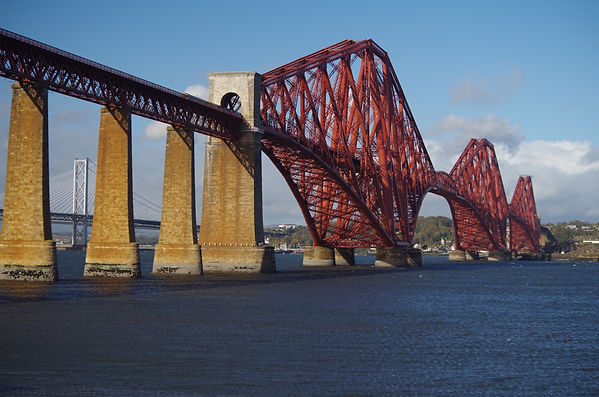 Still themost iconic of the three Forth crossings