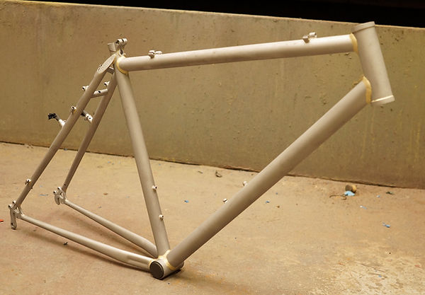 cycle bicycle bike frame tubes paint job