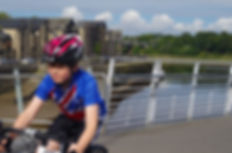 Across the Lune, Lancaster, morecambe Bay cycle Way