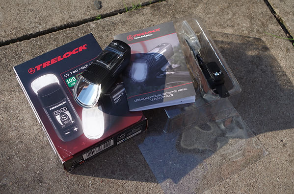 Trelock ls760 i-go vision front light cycle bicycle test review