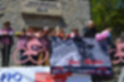 Giro d'Italia 2017 crowd Balze