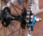bicycle wheel hub spoke chin tensioner cycle bike