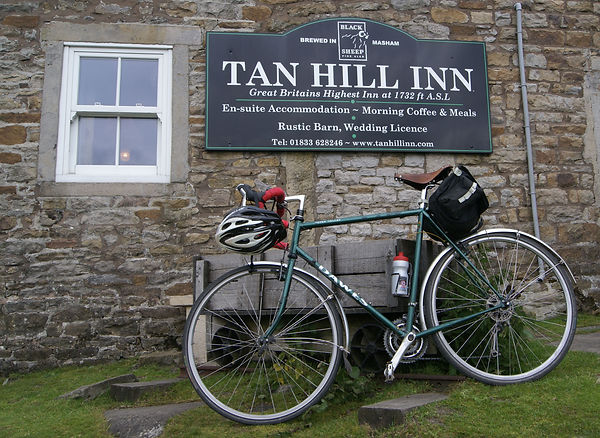 Tan Hill Inn, highest pub, cycling