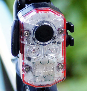 See Sense Icon Plus smart rear light