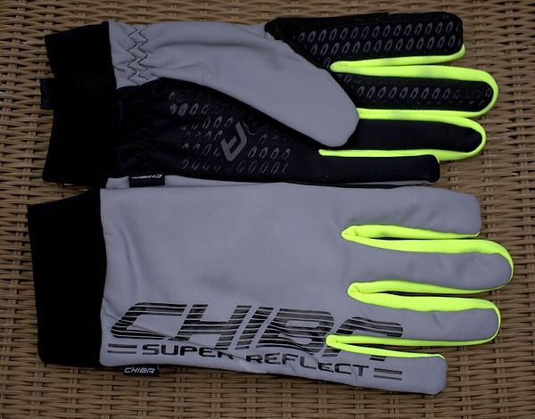 reflective gloves cycling bright safe bicycle cyclist velo