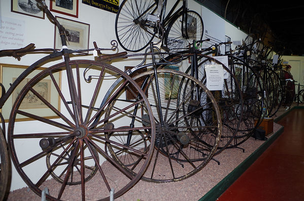 high wheelers penny farthing ordinary bicycle cycles velo