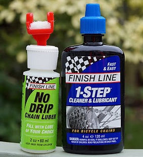 Test review Finsh Line 1 Step lube cleaner lubriant bike bicycle bottle applicator