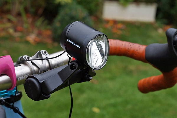 Trelock ls960i dynamo front bicycle cycle light test review