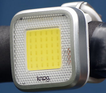 Knog MOB front bicycle light blinkie