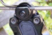 suspension seat post clamp saddle rail seat