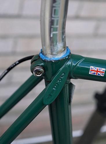 seat post bicycle rad velo cycle bike grease