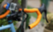 bar tape clean washed bicycle handle bar