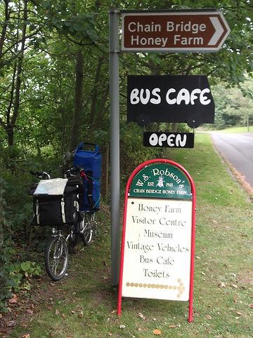 Bus cafe chain bridge union bridge