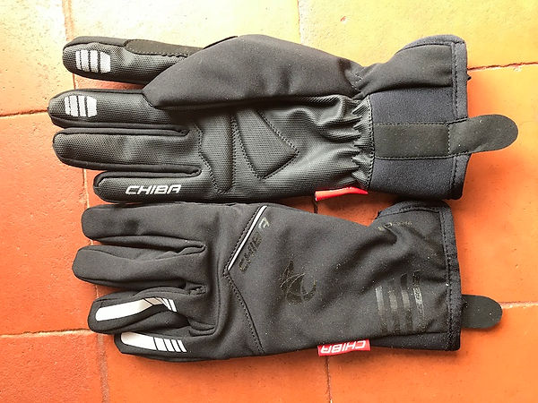 chiba gloves cycling padded bike bicycle gear velo rad