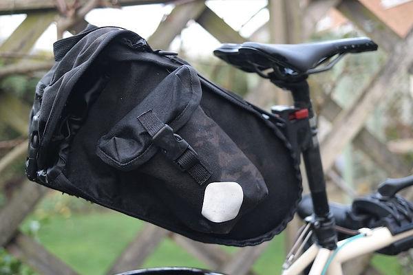 bag luggae bike bicycle seat pack saddle bag