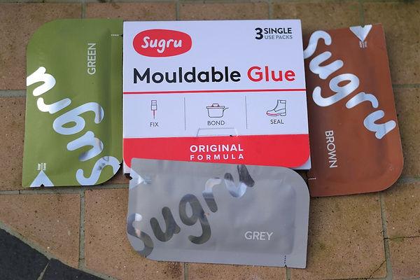 mouldable glue sugru repair maintenance bond seal fix