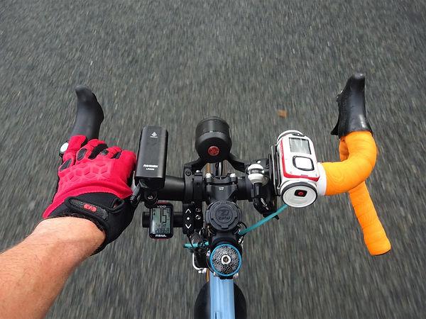 bike bicycle hanlebar wrap gadgets light mount bracket