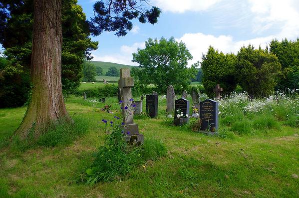 Middleton Churchyard Shropshire Rorrington Priest Weston