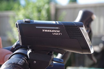 trelock front bicycle light