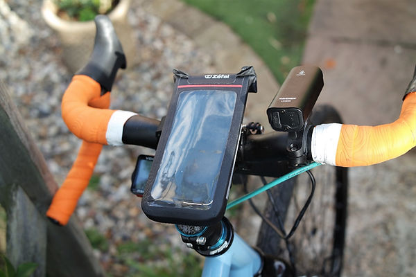 cycle zefal bars bicycle handle case phone console