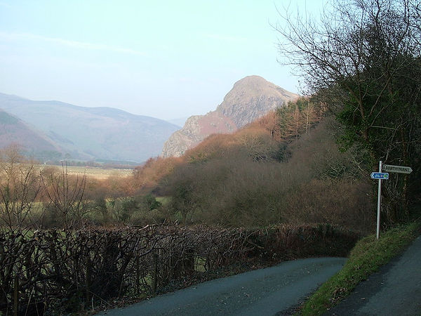 junction crag wales dysynni valley