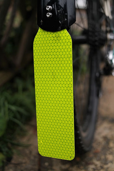 mudguard mudflap bicycle cycle bike reflective be seen