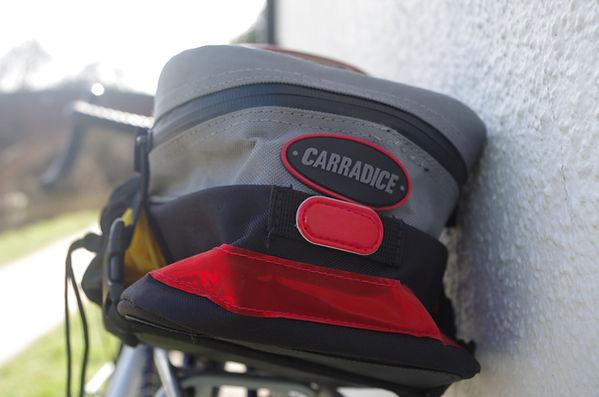 cycling biycle saddle pack bag carradice carradura
