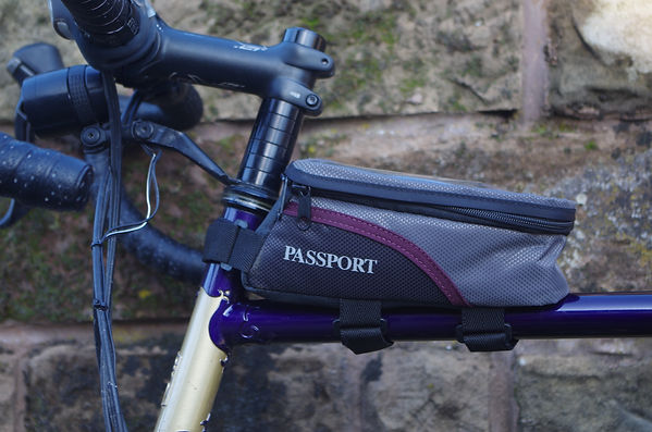 passport top tubepacl bicycle bikde cycling luggage test review