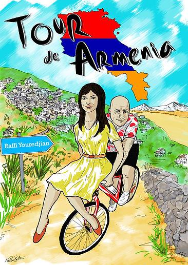 Armenia cycling Tour Tour de Armenia Raffi Youredjian
