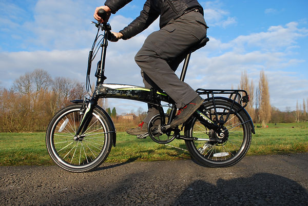 tets review carrera halfords cyclign bcycle ebike cross city ebike folding