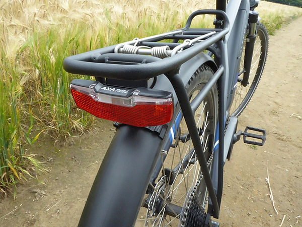 bike bicyclke cycle rack rear carrier light red