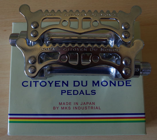 Soma Citoyen du Monde pedals bicycle cycle retro eroica