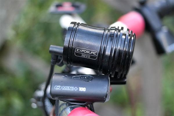 exposure revo hub dynamo bike bicycle cycl light lamp