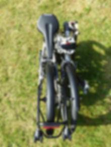 folded folding bike bicycle