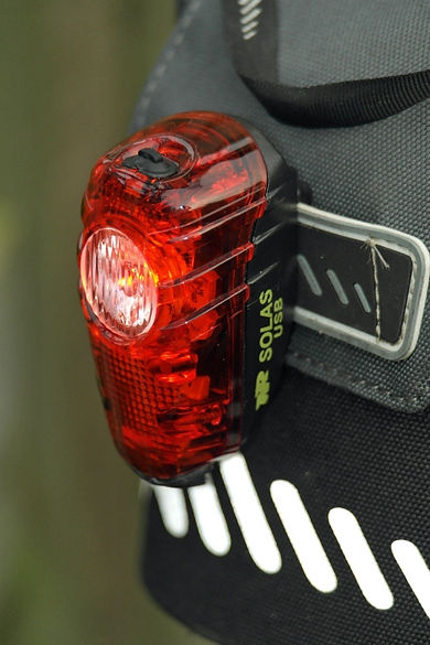 Night Rider Solas 30 USB bicycle rear light