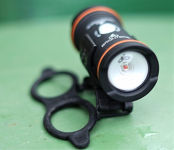 bright side cycle amber safety bicycle light