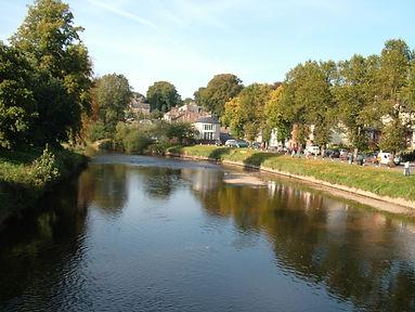 River Eden, Appleby, Westmoreland, Cumbria