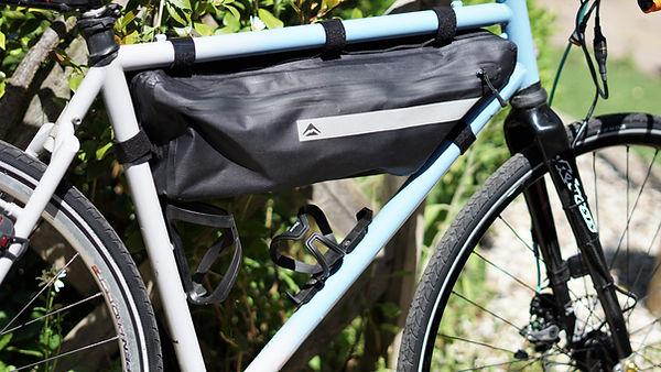 frame bag luggage bicycle bike cycle packing