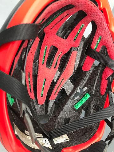 helmet cycling bicycle kali inside