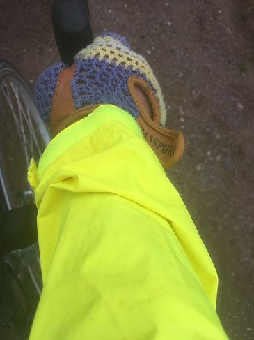 jacket sleev cuff mitt cyclist