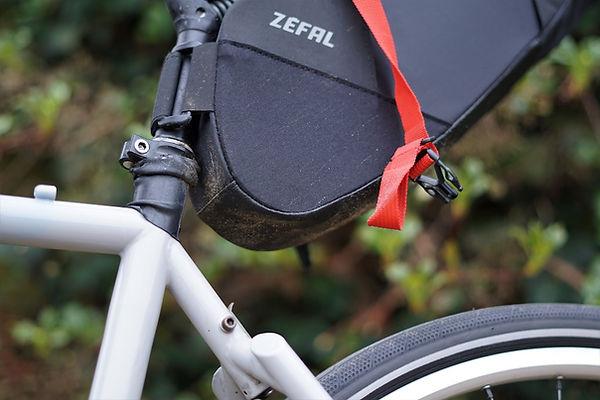strap bag seat post bicycle cycle bike
